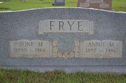 Annie Mae <i>Frederick</i> Frye