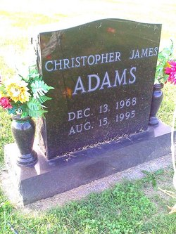 Christopher James Adams