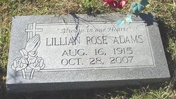Lillian Rose Adams