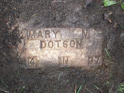Mary Virginia <i>McDonald</i> Dotson
