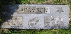 Clara N <i>Nelson</i> Adamson