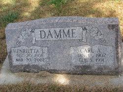 Henrietta L. <i>Sydow</i> Damme