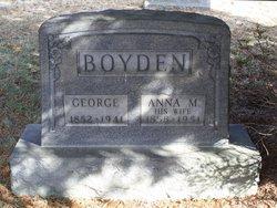 Anna M Boyden