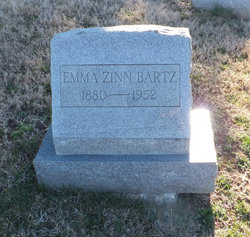 Emma <i>Zinn</i> Bartz