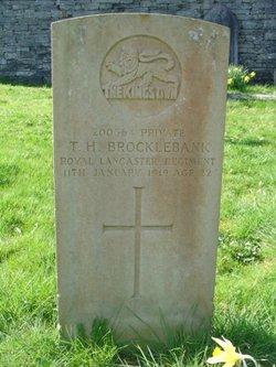 Pvt T H Brocklebank