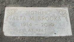 Alta M Brooks