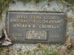 Andrea K Crowell