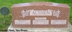 Christina <i>Bender</i> Althen