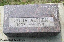 Julia L Althen