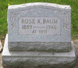 Rose K Baum
