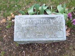 Esther <i>Halas</i> Abahazi