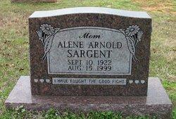 Alene Adaline <i>Arnold</i> Sargent