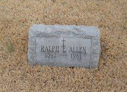 Ralph E Allen