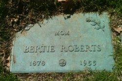 Bertie Ann <i>Rogers</i> Roberts