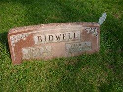 Mary B <i>Lutes</i> Bidwell