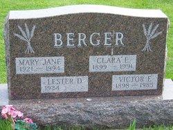 Clara Elizabeth <i>Wagner</i> Berger