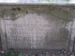 Elizabeth <i>Lloyd</i> Cadwalader