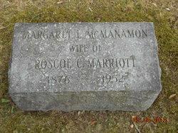 Margaret L. <i>McManamon</i> Marriott