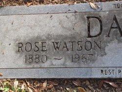 Rose <i>Watson</i> Davis