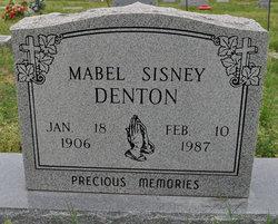 Mabel <i>Sisney</i> Denton