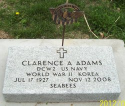 Clarence A. Curly Adams