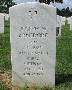 Joseph William Arnsdorf