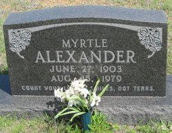 Myrtle Alexander