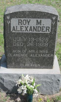 Roy M. Alexander