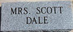 Mrs Scott Dale