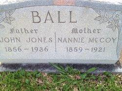 Annie <i>McCoy</i> Ball