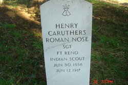 Chief Henry Caruthers Roman Nose