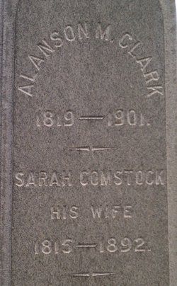 Sarah <i>Comstock</i> Clark