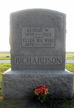 Elizabeth E. Eliza <i>Cotner</i> Richardson