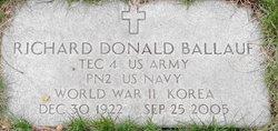 Richard Donald Ballauf