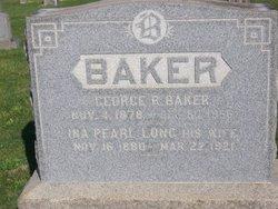Ina Pearl <i>Long</i> Baker