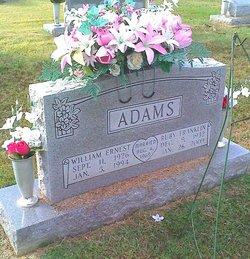 William Ernest Bill Adams
