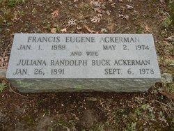 Juliana Randolph <i>Buck</i> Ackerman