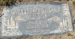 Charles Anthony Charlie Griego