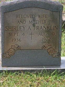 Mrs Shirley Ann Shirley <i>Puckett</i> Franklin