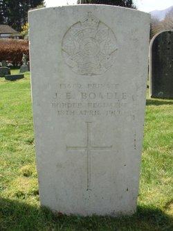 Pvt John Ellwood Boadle