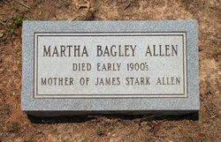 Martha <i>Bagley</i> Allen