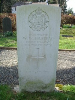 Pvt William Wallace Boustead