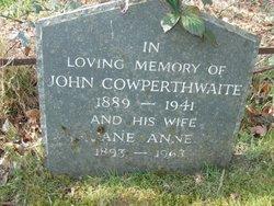 John Cowperthwaite