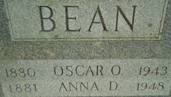 Anna D. <i>Eckhart</i> Bean