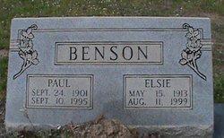 Elsie Blondell <i>Robertson</i> Benson