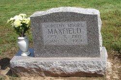 Dorothy <i>Moore</i> Maxfield