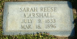 Sarah Reese Marshall