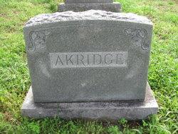 Erastus W. Akridge