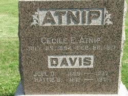 Cecile E <i>Davis</i> Atnip