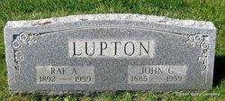 Mrs Rae A <i>Reed</i> Lupton